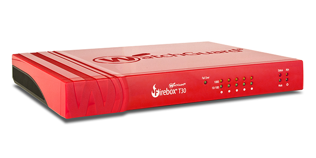 Trade Up till WatchGuard Firebox T30-W med 1 års Security Suite
