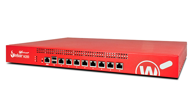 Competitive Trade In till WatchGuard Firebox M200 med 3 års Security Suite