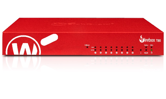 WatchGuard Firebox T80 med 1 års Standard Support