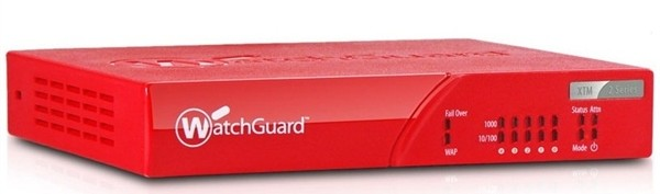Watchguard XTM 25 med 3 års Security Bundle