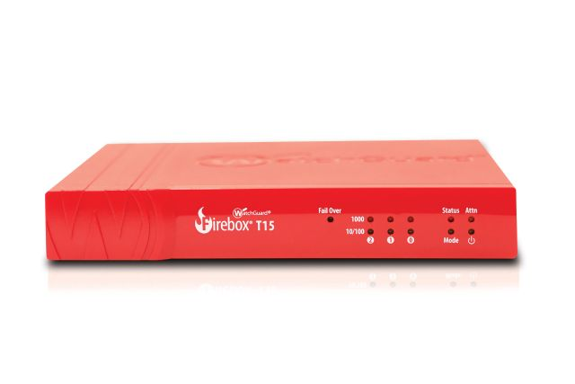 Competitive Trade in till WatchGuard Firebox T15 med 3 års Basic Security Suite