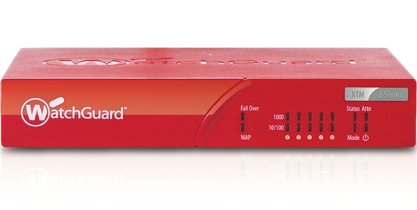 Watchguard XTM 26 med 3 års LiveSecurity