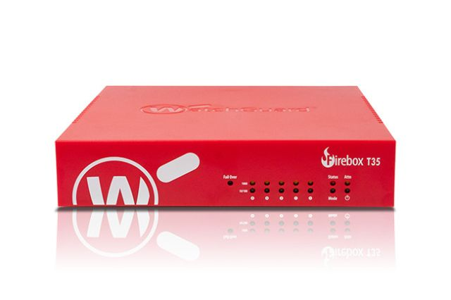 Competitive Trade in till WatchGuard Firebox T35 med 3 års Total Security Suite