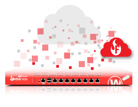 Trade up till WatchGuard Firebox Cloud Large med 1 års Total Security Suite