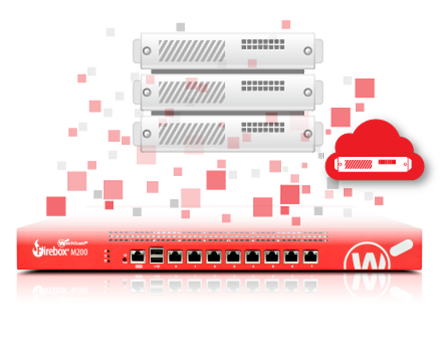 WatchGuard FireboxV Medium med 1 års Basic Security Suite